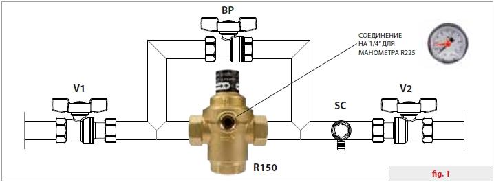 Схема типичной установки